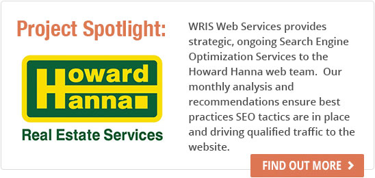 Strategic, ongoing search engine optimization services to the howard hanna web team