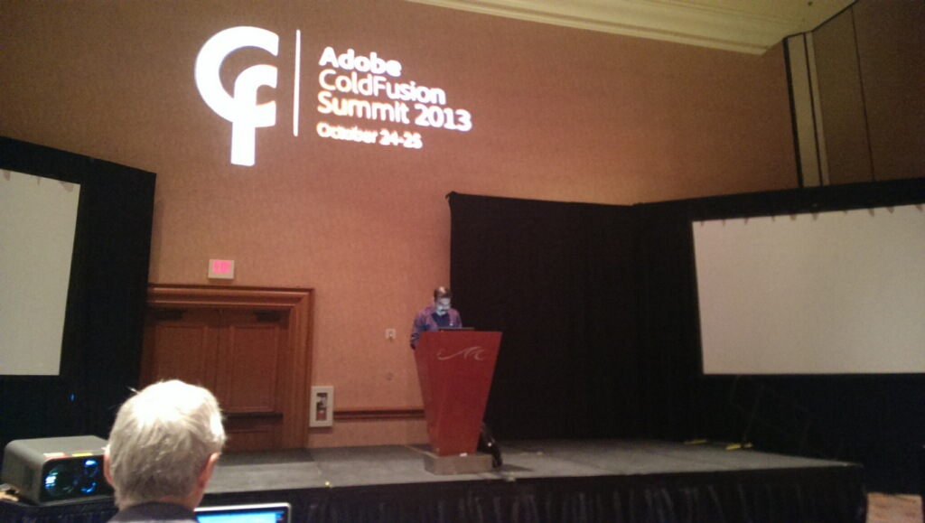 ColdFusion 11 Session in Vegas